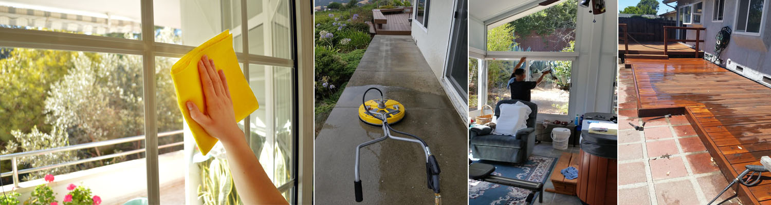 Residential Windows Cleaning Service San Leandro CA