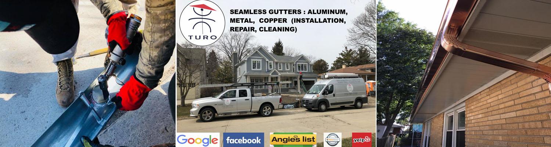 Aluminum Gutters Installation Norridge IL