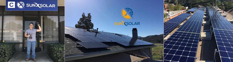Residential Solar Panel Install Monterey Park CA