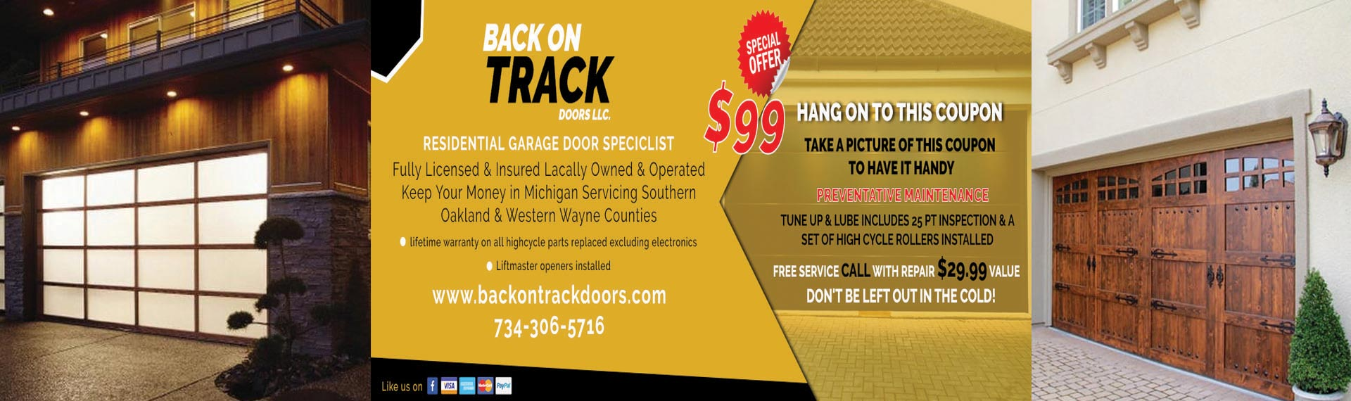 Garage Door Services Novi MI