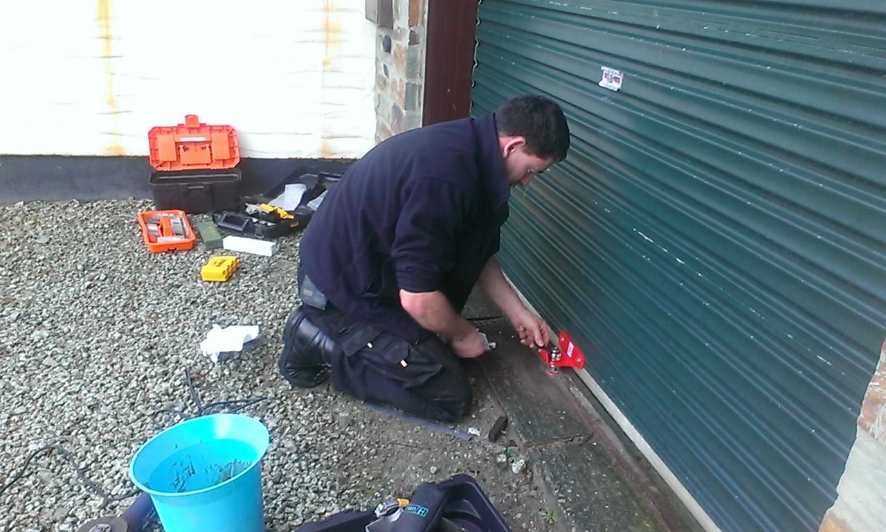 Garage Door Lock Repair