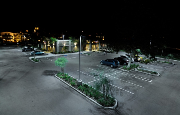 Parking Lot Lights San Fernando Valley LA
