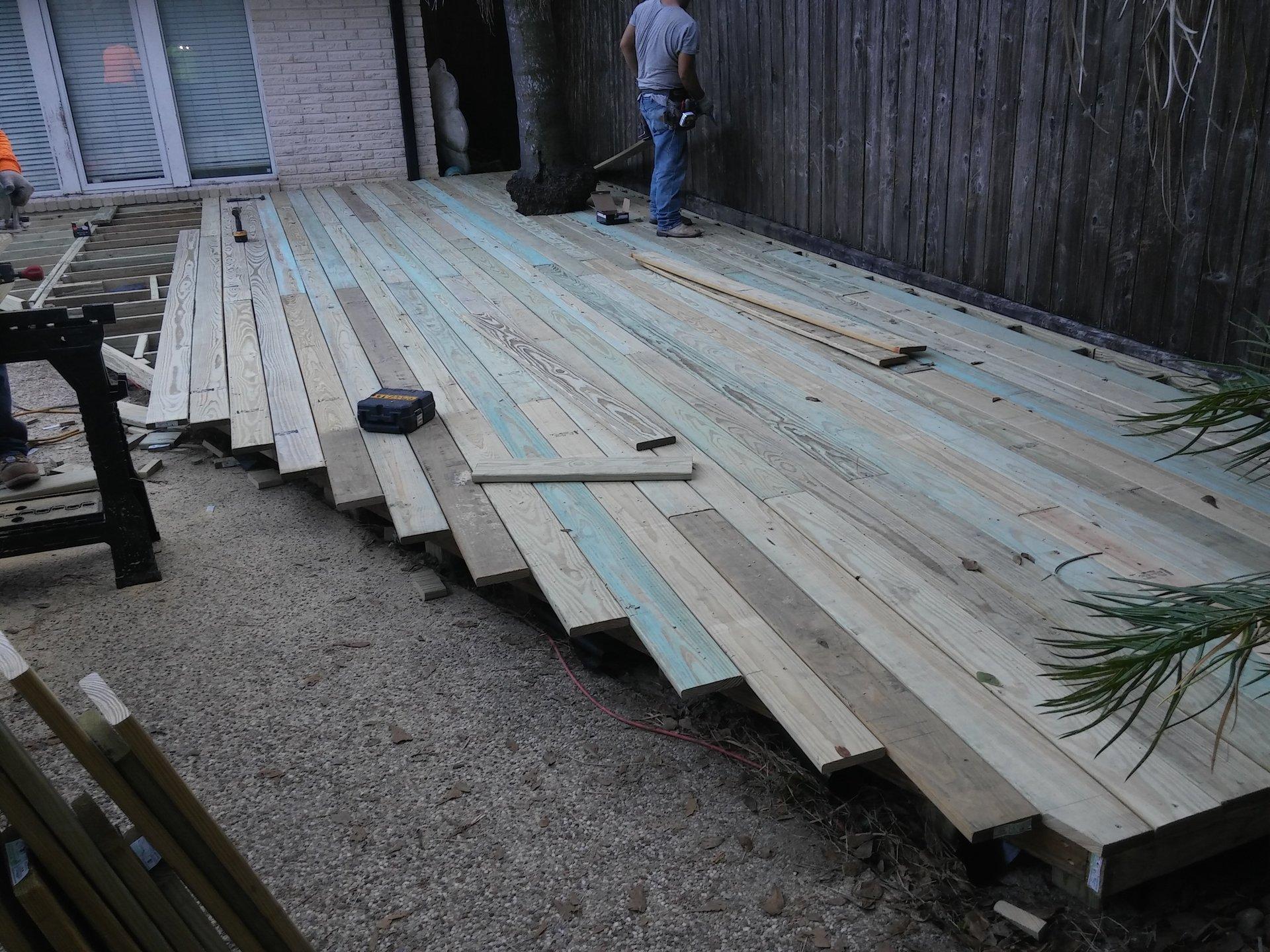 Deck Repair Katy TX