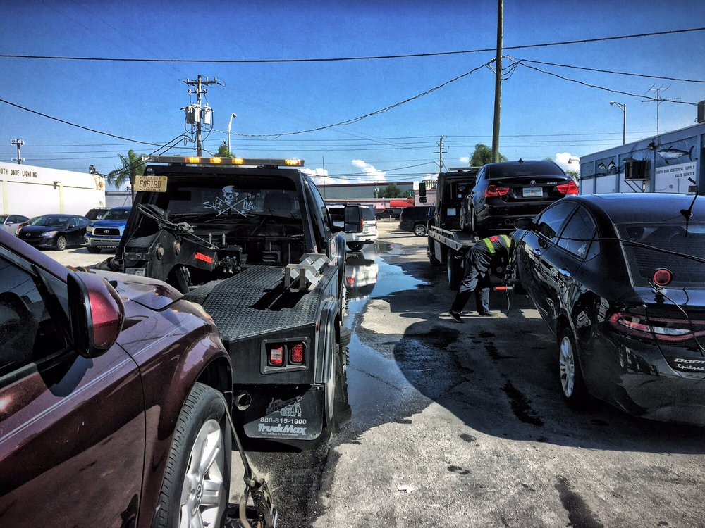 Wrecker Service Cutler Bay FL