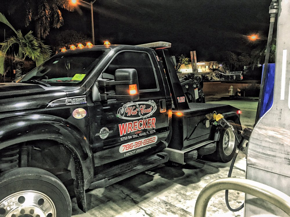 Tow Truck Cutler Bay FL