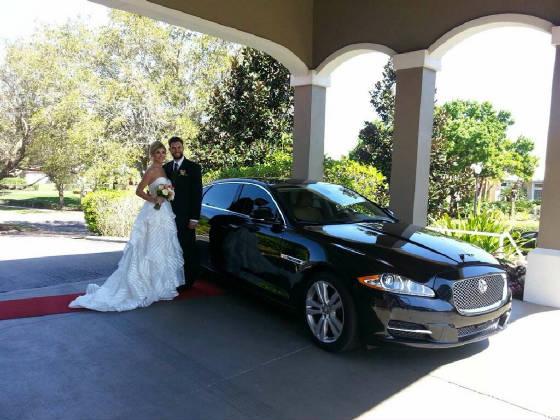 Wedding transportation Texas Medical Center TX