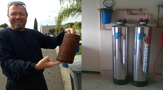 Residential Water Filtration System Chino Hills CA