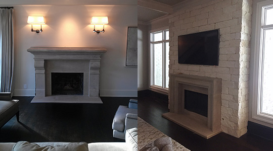 Install Fireplace Mantel Shelf Roswell GA