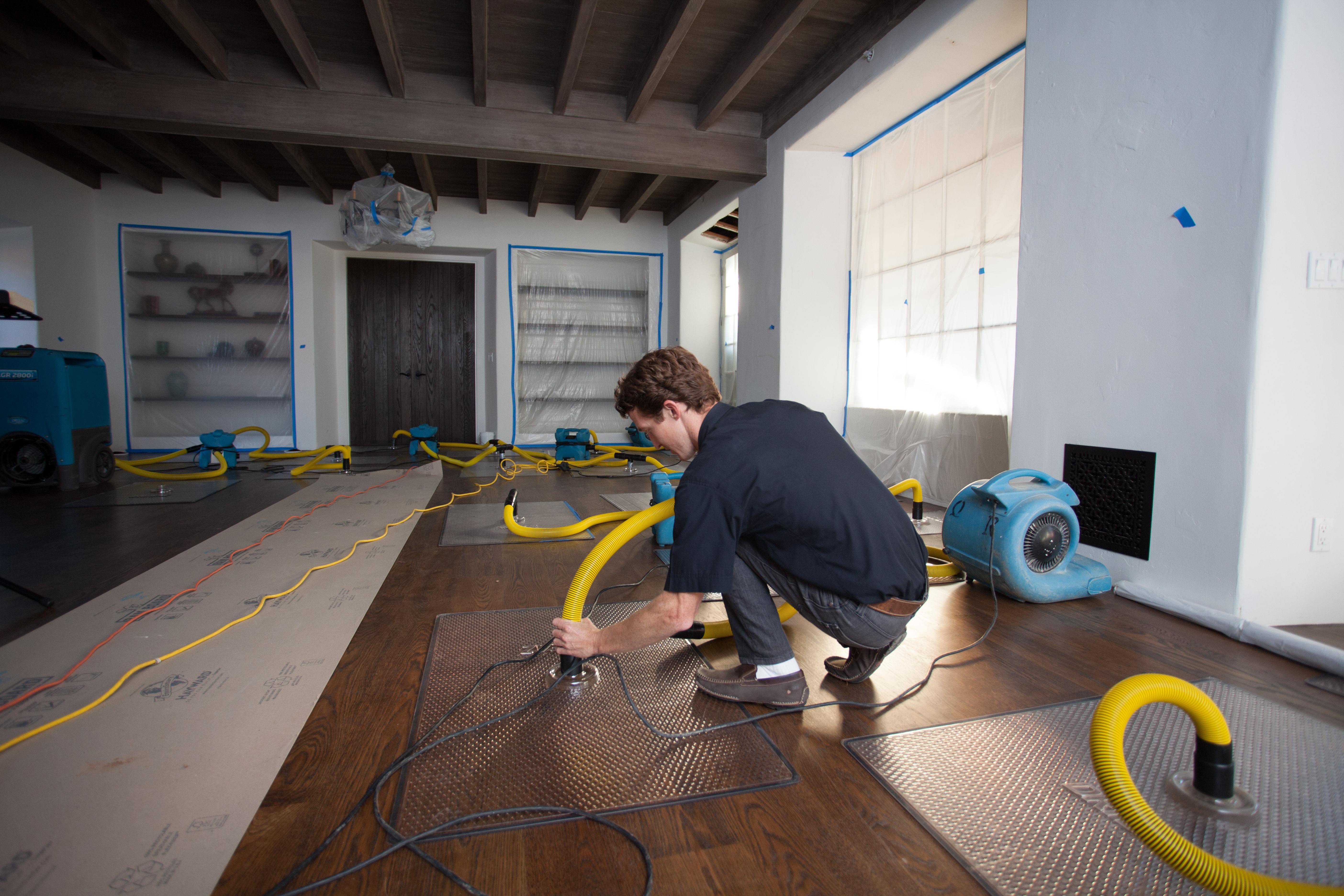 Hardwood Floor Cleaning