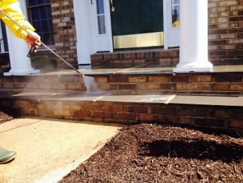 Brick Power Washing Fairfax VA