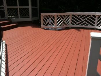 Deck Painting Fairfax VA