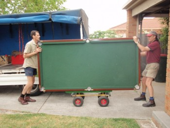 Pool Table Mover Forney TX
