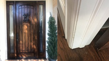 Wood Door Refurbish Walden On Lake Houston TX