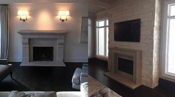 Install Fireplace Mantel Shelf Atlanta GA