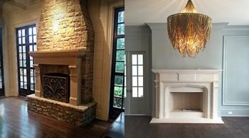 Cast Stone Fireplace Mantels Atlanta GA