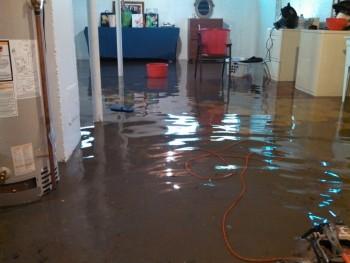 Orange Flood Arlington VA